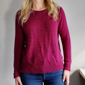 H&M Red and Blue Nit Sweater